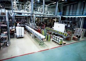 производство краски, линия производства, производитель краски